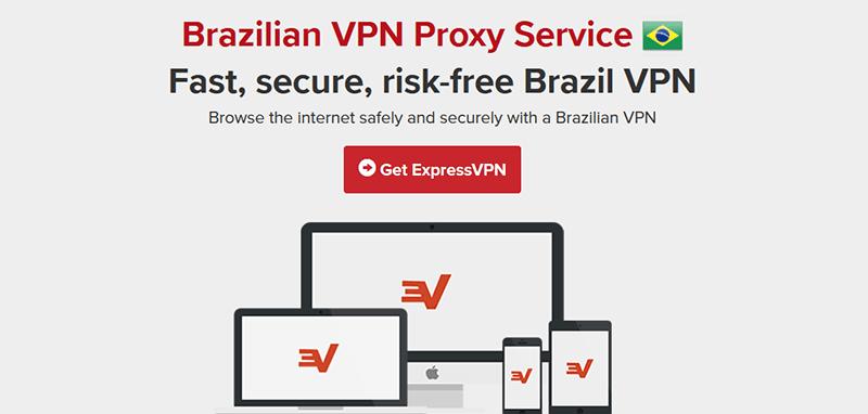 ExpressVPN in Brazil