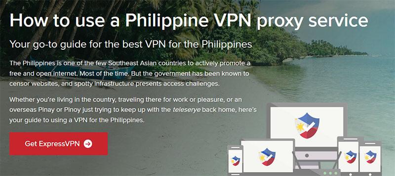 ExpressVPN in Philippines