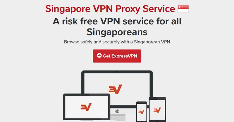ExpressVPN in Singapore