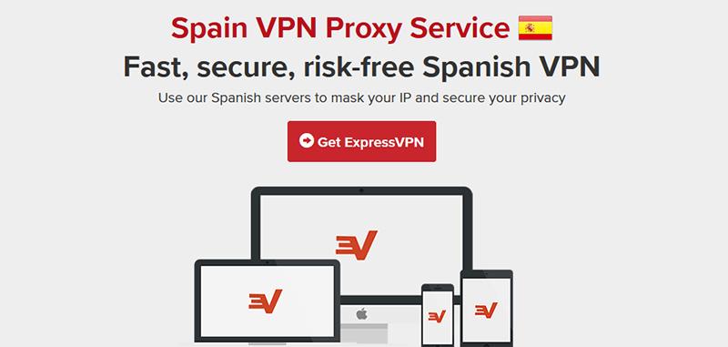ExpressVPN in Spain