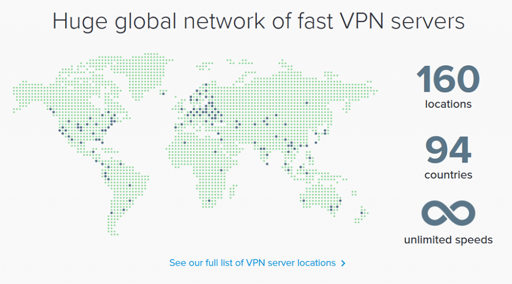 ExpressVPN servers and countries