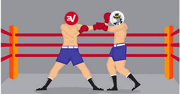 ExpressVPN vs HideMyAss