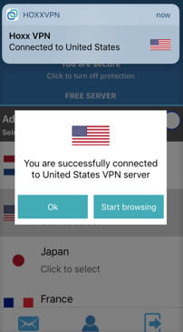 Hoxx VPN application