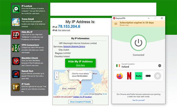 Irish IP