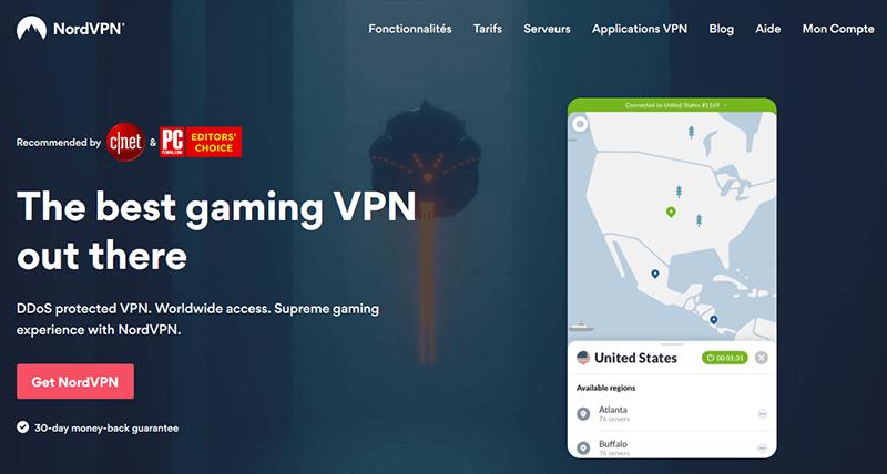 NordVPN Gaming