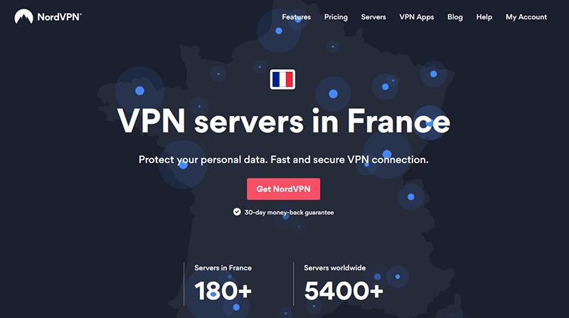 NordVPN in France