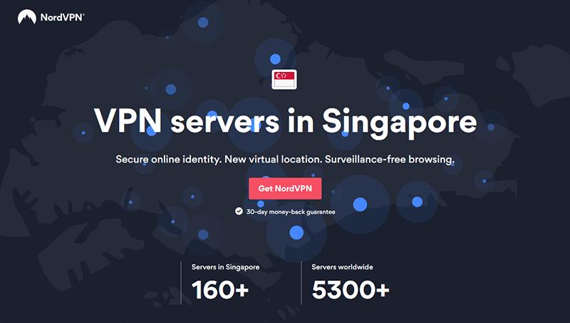 NordVPN in Singapore
