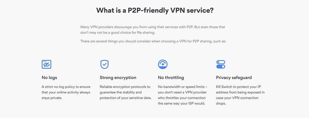 P2P with NordVPN