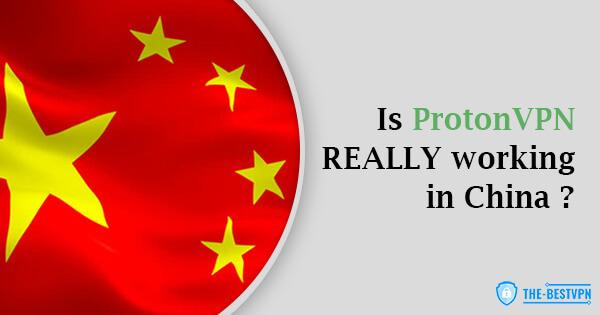 ProtonVPN Status China