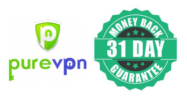 PureVPN money-back guarantee