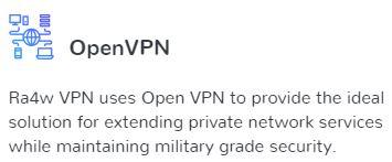 RA4W VPN Protocols