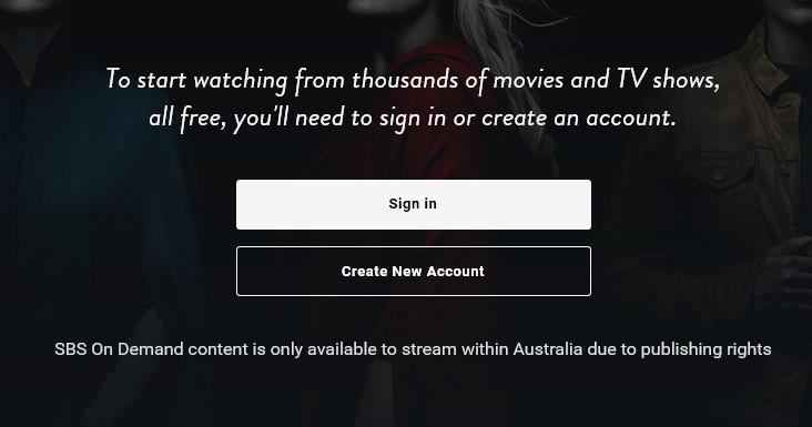 SBS blocked