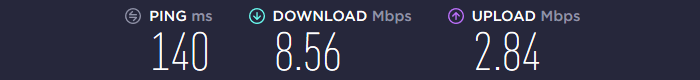 StrongVPN Speed US