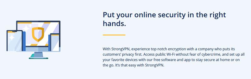 StrongVPN privacy