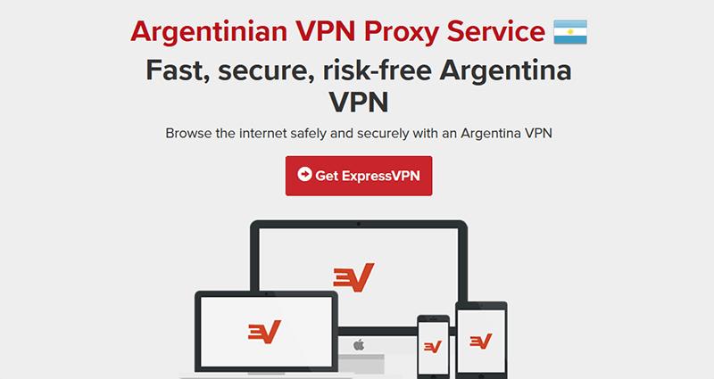 VPN Argentina ExpressVPN