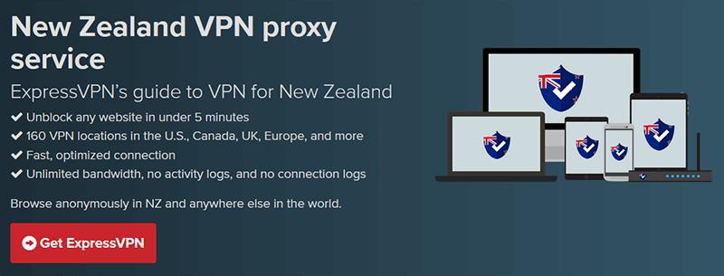 VPN New Zealand ExpressVPN