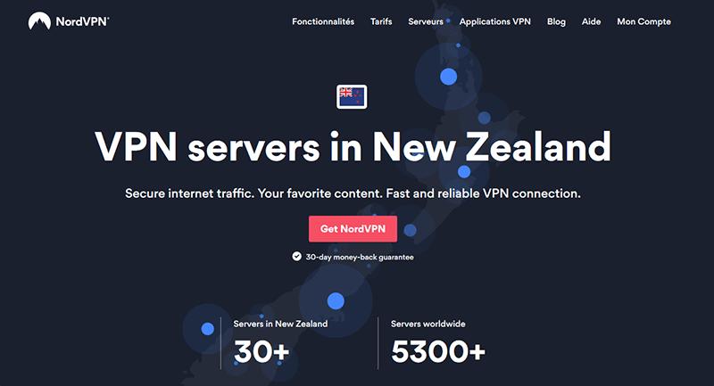 VPN New Zealand NordVPN