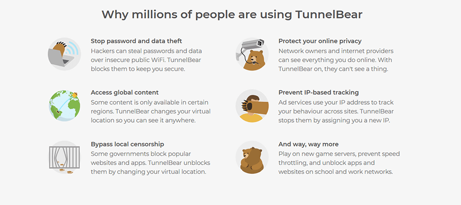 Why TunnelBear