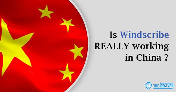 Windscribe status China