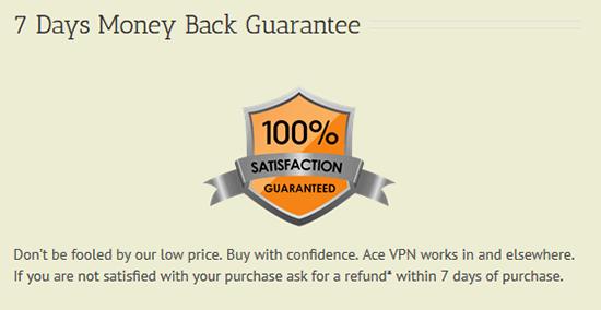 Money-back guarantee