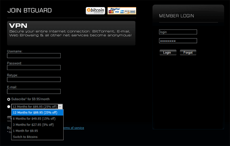 BTGuard prices