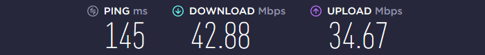 BlackVPN Speed US