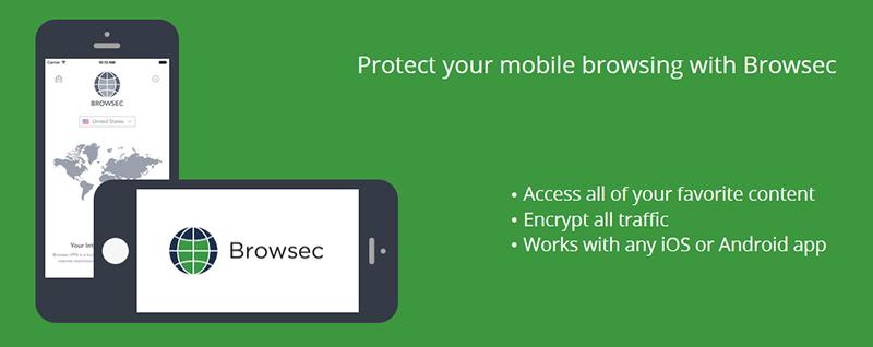 Browsec VPN applications