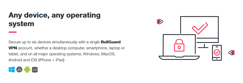 BullGuard VPN devices