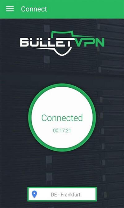 BulletVPN app