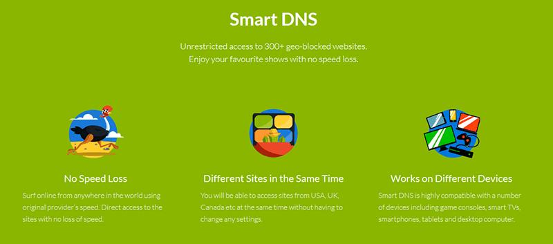 CactusVPN Smart DNS