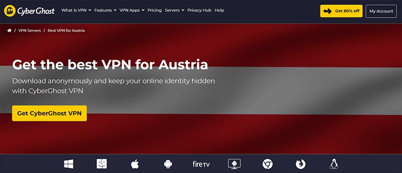 CyberGhost in Austria