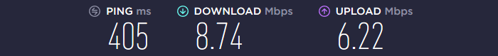 DotVPN Speed Australia