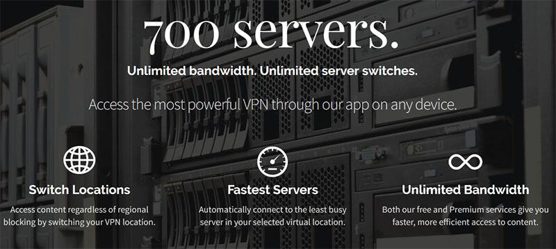 DotVPN servers