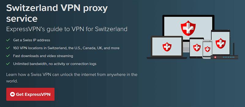 ExpressVPN in Switzerland