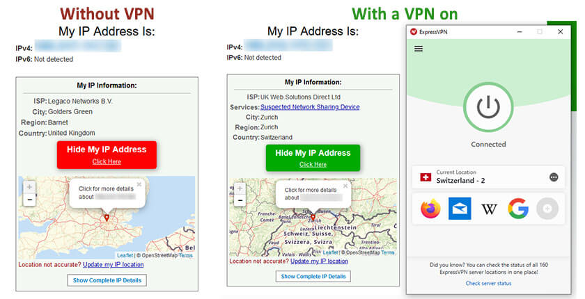 How to get a Swiss IP address