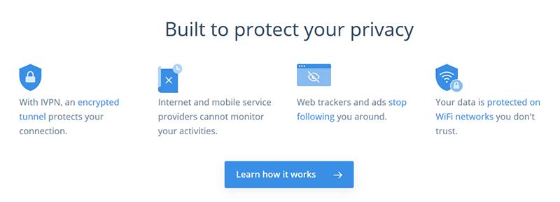 IVPN privacy