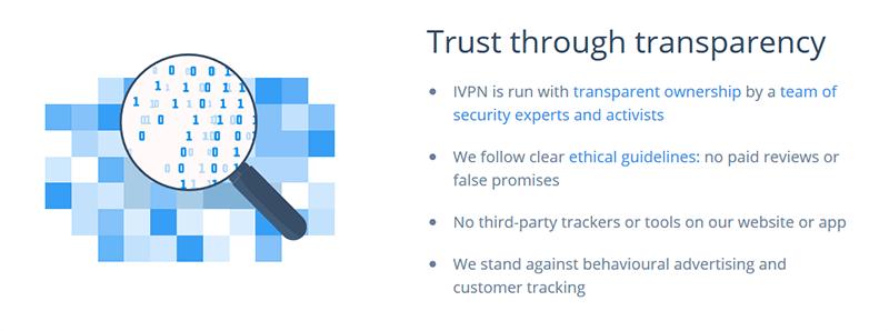 IVPN transparency