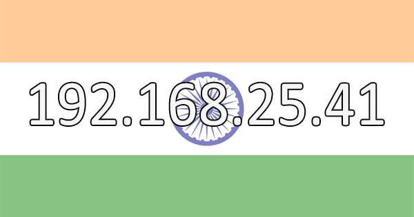 Indian IP Address