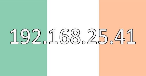 Irish IP Address