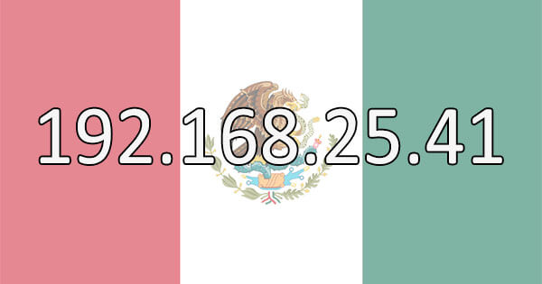 Mexican IP Address