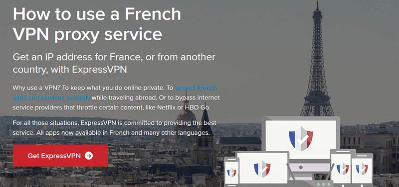 Use ExpressVPN in France