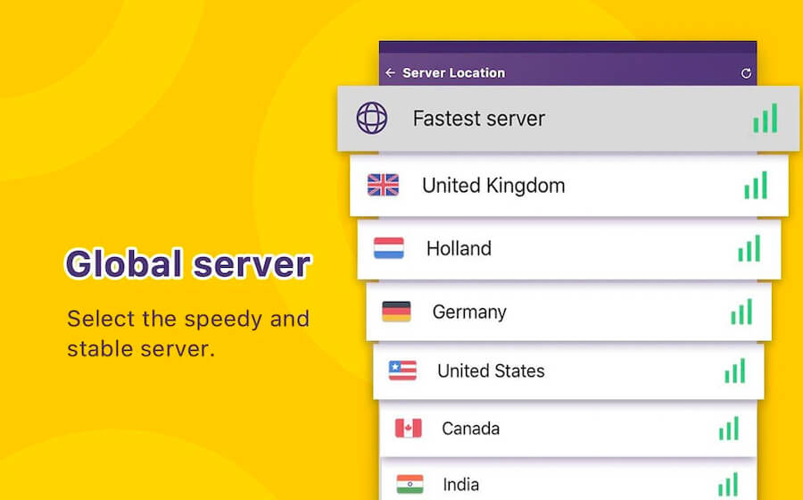 VPN monster servers