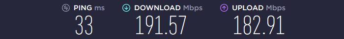 VPN.ac Speed EU