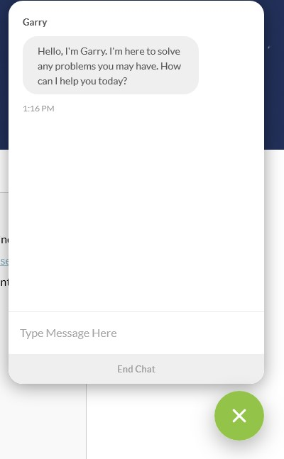 Windscribe support chat box