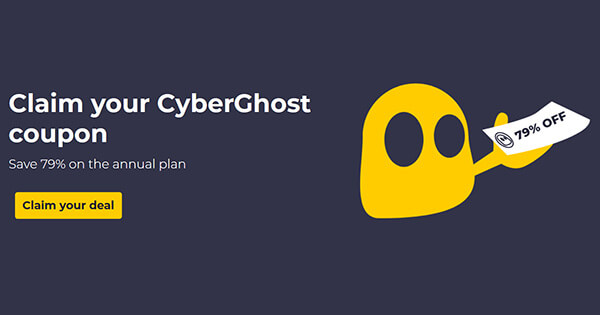 CyberGhost coupon