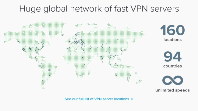 ExpressVPN servers(1)