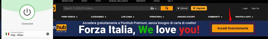 Pornhub offer
