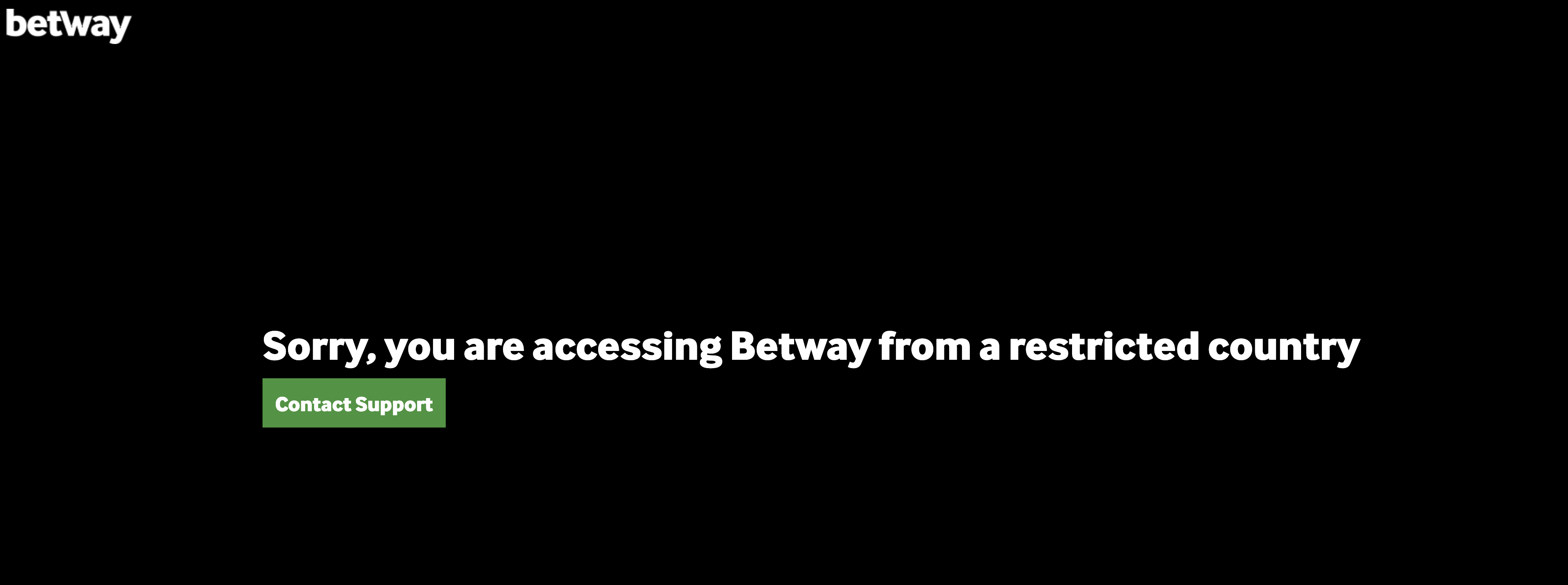 how to unblock and use Betway outside of the UK