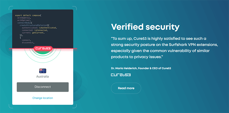 Cure53 Audit Surfshark