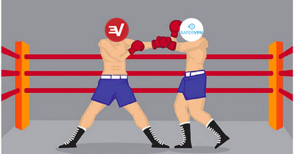ExpressVPN vs SaferVPN